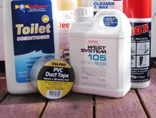 Boat care and cleaning products