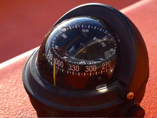 compass instrument for navigation