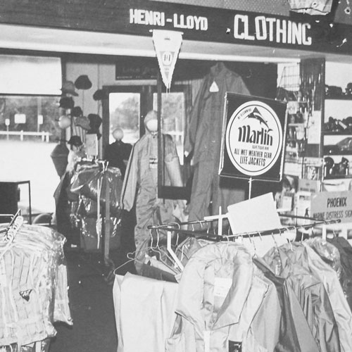 old anchor marine store and clothing