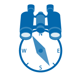 binocular-compass-icon