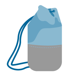 gear bags for sailing icon