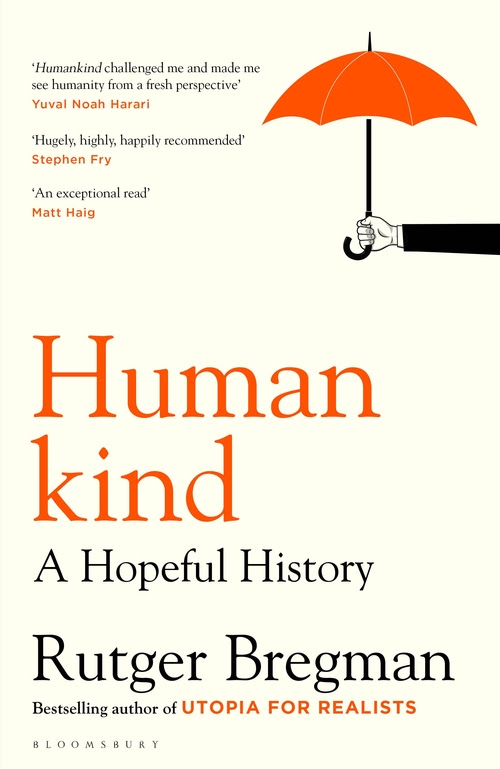 Human Kind -a hopeful history book cover